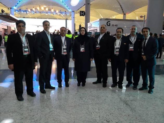 حضور شرفبافی در افتتاح بزرگترین فرودگاه جهان