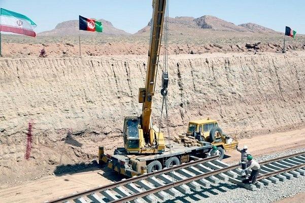 پیشرفت ۹۰درصدی خطآهن خواف-هرات